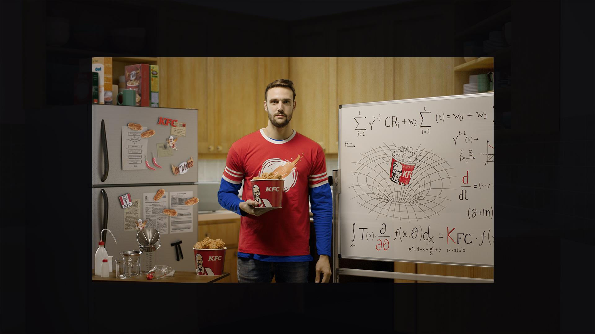KFC Big Bang Theory CGI 3D