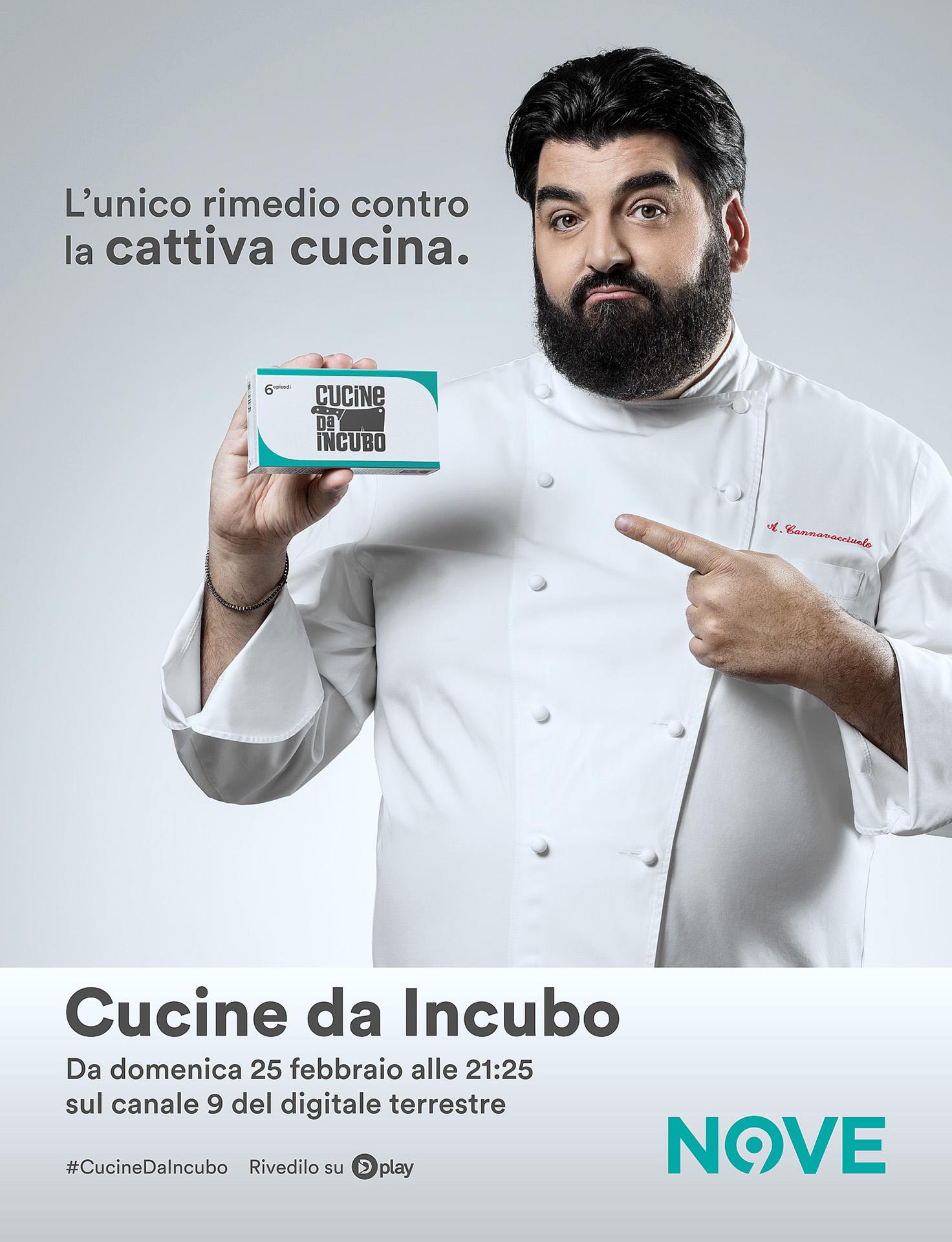 Cucina Da Incubo Photography Advertising