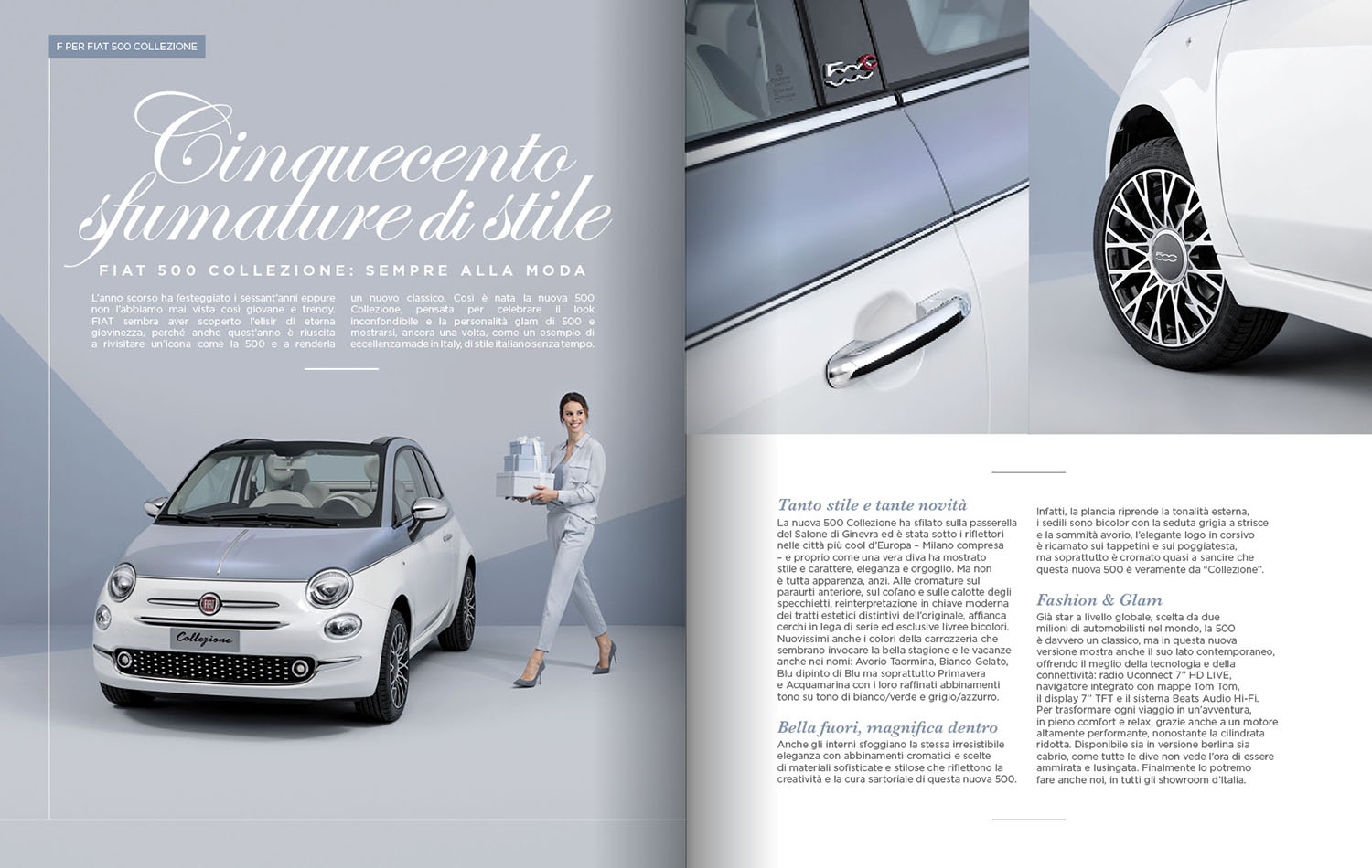 FIAT 500 Collezione Photography Advertising
