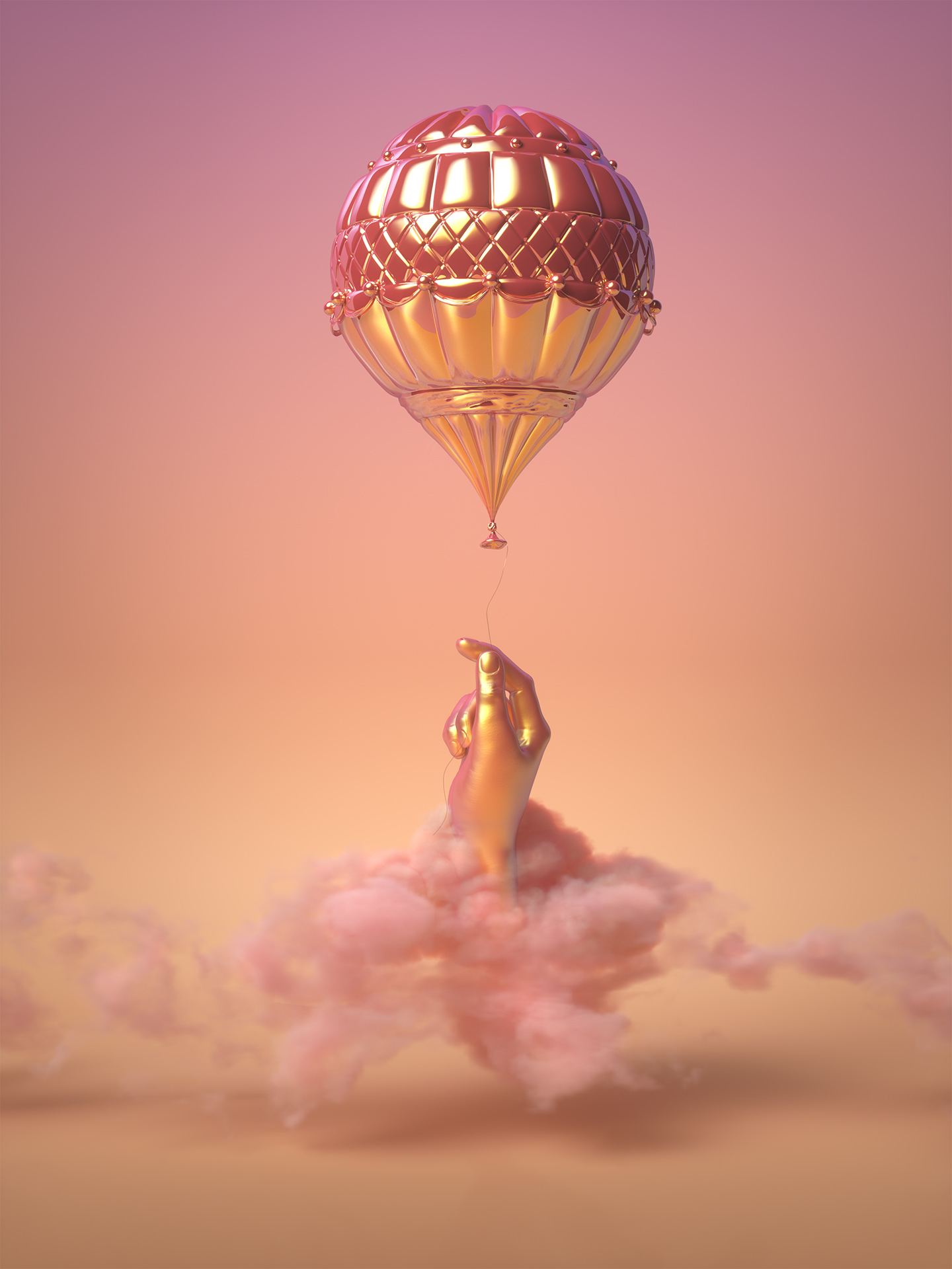 Heavy Thoughts 3D CGI Illustration